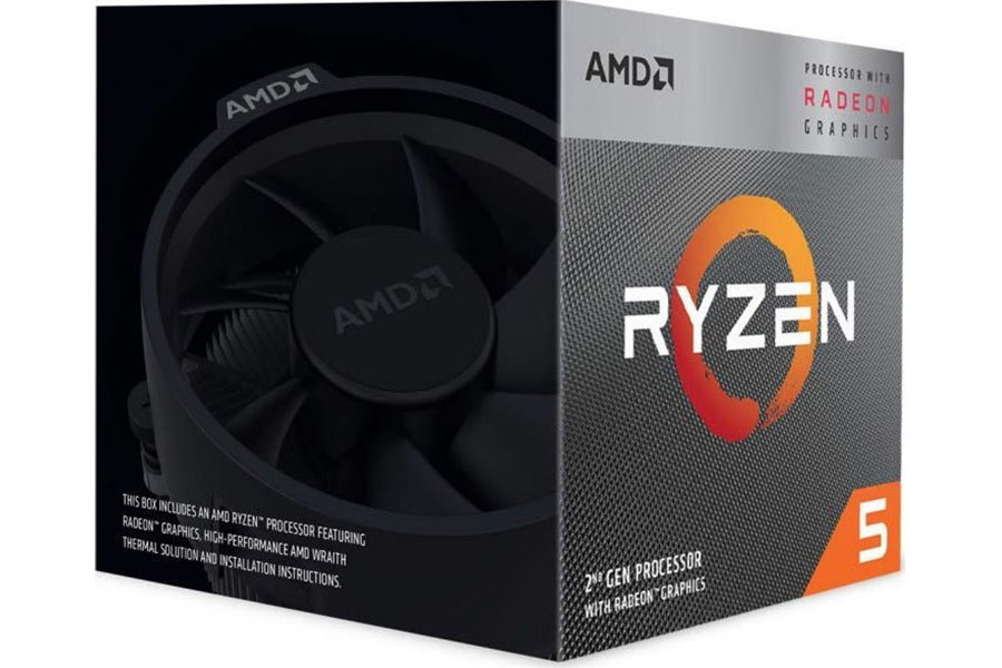 Επεξεργαστής (CPU) AMD Ryzen 5 3400G3,70 GHz
