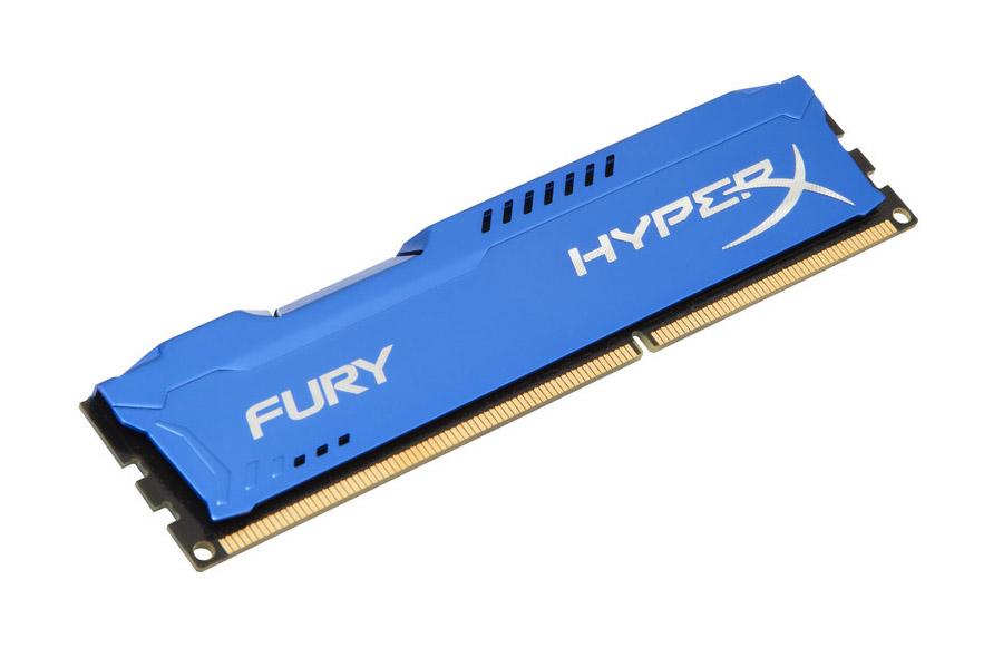 Μνήμη HyperX DDR3 Fury Blue 8GB 1866MHz