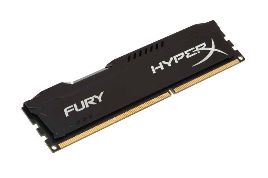 Μνήμη HyperX DDR3 Fury Black 4GB 1866MHz