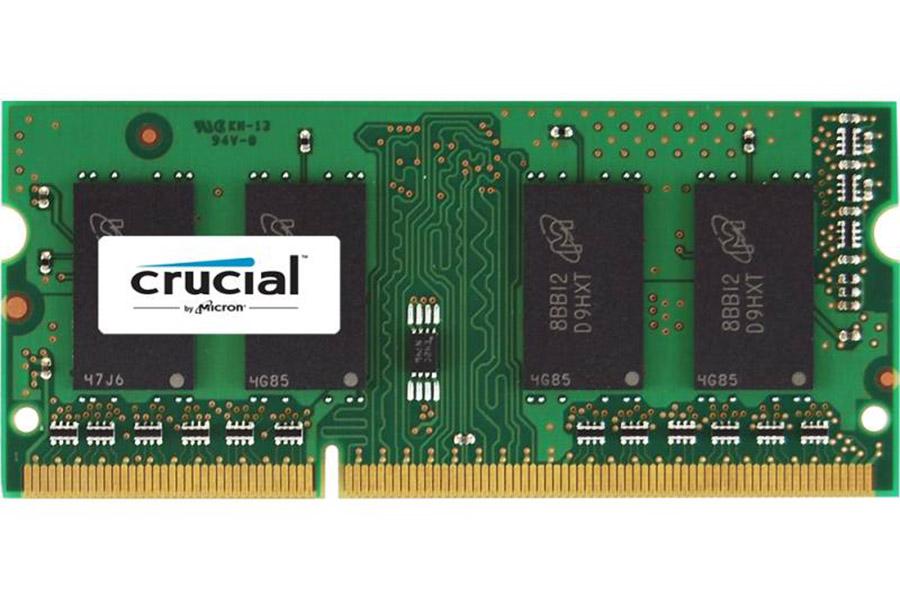 ΜΝΗΜΗ Crucial DDR3 4GB 1600MHZ SODIMM Low Voltage