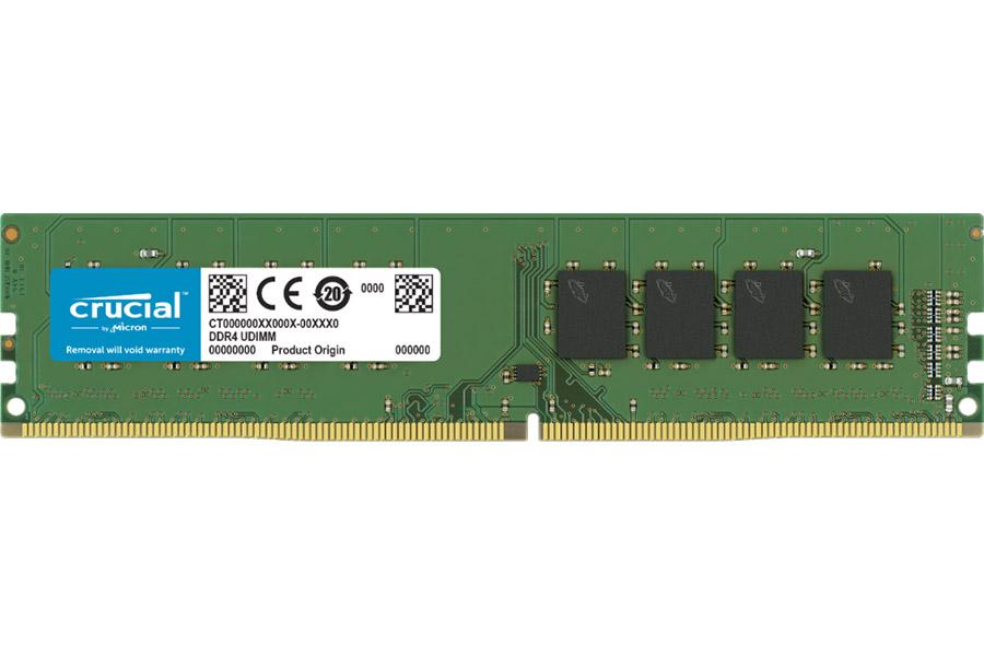 Μνήμη Crucial DDR4 8GB 2666MHZ