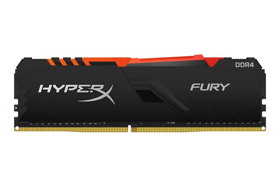 Μνήμη HyperX Fury RGB 16GB DDR4 2666MHz (HX426C16FB4A/16)