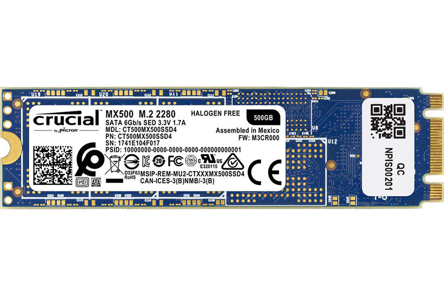Solid State Drive (SSD) CRUCIAL MX500 500GB M.2 SATA